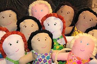 Rag doll - Handmade rag dolls