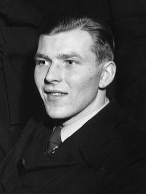 Hans Bjørnstad - Bjørnstad at the 1950 World Championships