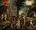 Hans Holbein the Younger - An Allegory of the Old and New Testaments - Google Art Project.jpg
