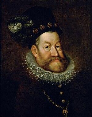 Hans von Aachen - Portrait of Emperor Rudolf II, c. 1607