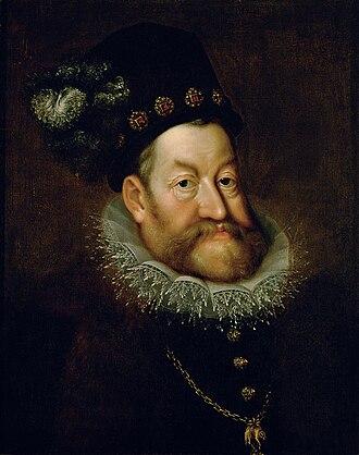 Rudolf II, Holy Roman Emperor - Image: Hans von Aachen Portrait of Emperor Rudolf II