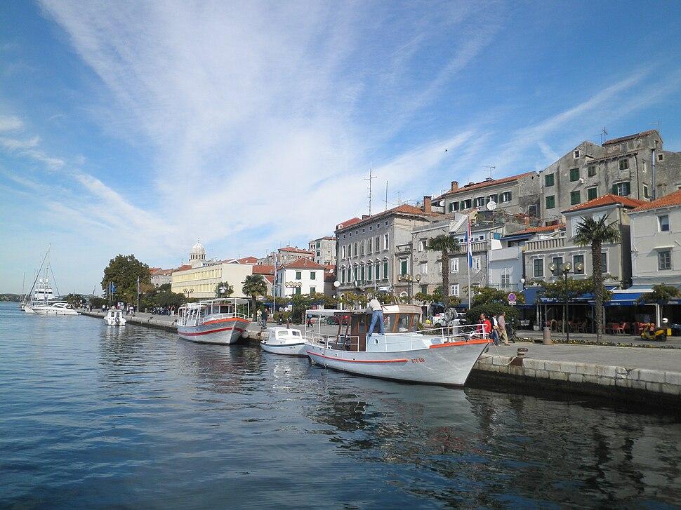 Harbour of Sibenik