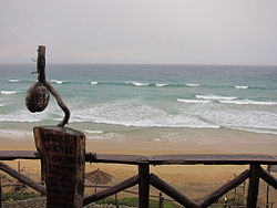 Indic Ocean seen from one of many province`s resorts