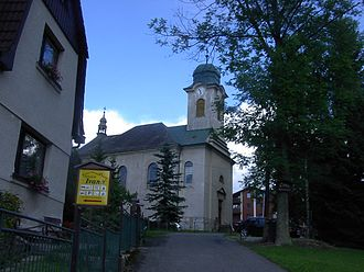 Harrachov - St. Wenceslaus Church