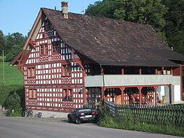 House en Buhwil-vilaĝo