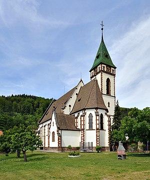 Hausen im Wiesental - Image: Hausen im Wiesental Katholische Kirche 2