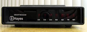 Modem - The original model 300-baud Hayes Smartmodem