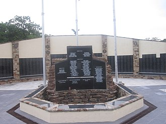 Hays County, Texas - Hays County Veterans Monument in San Marcos