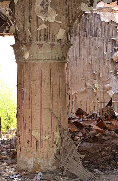 Будинок культури, смт Гайворон, Кіровоградська область. Автор Nataliya Shestakova, вільна ліцензія CC BY-SA 4.0