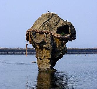 Sea of Japan - Heishi rock near Kamome Island, Hokkaido