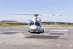 Helicorp (VH-TJH) Leonardo-Finmeccanica AW139 at Wagga Wagga Airport (2).jpg