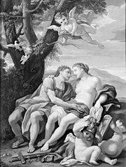 Mars, Venus og Amor