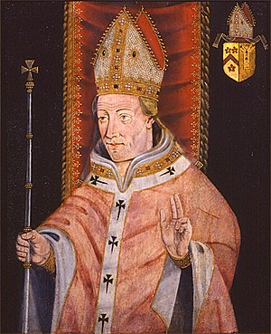 Henry Chichele - Henry Chichele became Archbishop of Canterbury in 1414.
