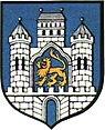 Herb Lwówka Śląskiego w latach 1967 - 1996 wzorowany na pieczęci miejskiej z XIV wieku.jpg