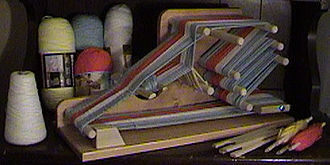 Inkle weaving - Image: Heritage inkle loom