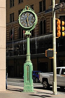 Hertzberg Clock (San Antonio)