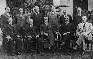 J. B. M. Hertzog - Hertzog Cabinet 1929