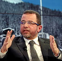 Hesham Mohamed Qandil World Economic Forum 2013 crop.jpg