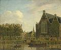Het zogenaamde Boerenverdriet aan het Spui te Amsterdam Rijksmuseum SK-A-3475.jpeg