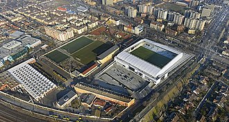 MTK Budapest FC - The newly built stadium