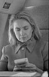 Hillary Rodham Clinton on plane using Game Boy (14).jpg