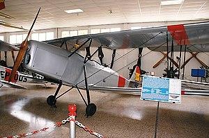 Hispano-Suiza E-34 - Hispano-Suiza E-34 with Spanish Republican Air Force markings. ''Museo del Aire'', Cuatro Vientos, Madrid.