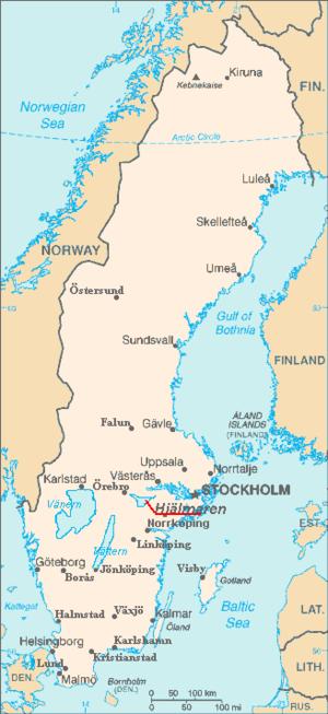 Hjälmaren - Image: Hjälmaren in Sweden