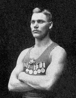 Hjalmar Johansson Swedish sportsman