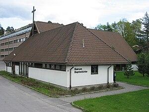 Strand, Akershus - The Baptist church.