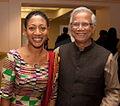 Hon. Samia Nkrumah and Nobel Peace Laureate Muhammad Yunus.jpg