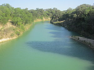 Medina County, Texas - Image: Hondo Creek, Medina County, TX IMG 3309