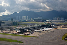Hong Kong International Airport Midfield Concourse
