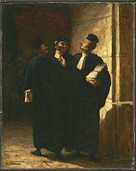 Honoré Daumier: Three Lawyers