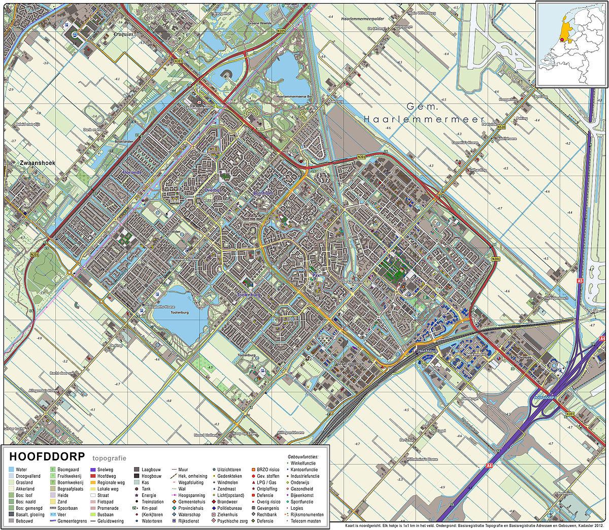 Amsterdam City Map To Print