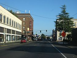 Hoquiam, Washington.