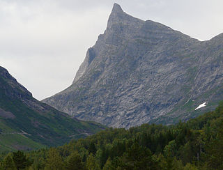 Hornindalsrokken Norwegian mountain