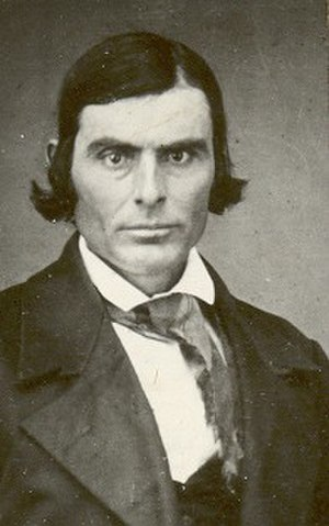 Hosea Stout - Photograph of Hosea Stout, circa 1850s