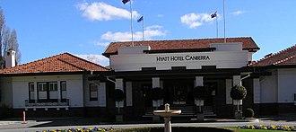 National Capital Authority - Image: Hotel Canberra