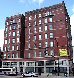 Hotel Somerset 1152 1154 South Wabash Avenue Roosevelt Road Facade Jpg