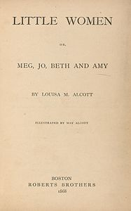 Houghton AC85.Aℓ194L.1869 pt.2aa - Little Women, title.jpg
