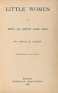<i>Little Women</i> 1860s novel by Louisa May Alcott