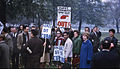 Hyde Park Protesters October 1962 during the Cuban Missile Crisis.jpg