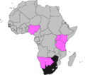 ICC Africa Under-19 Championship participants, 2015.png
