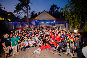 International Geography Olympiad - Group photo at the 12th International Geography Olympiad in Russia in August 2015.