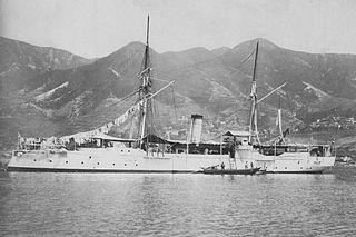 Japanese gunboat <i>Atago</i>