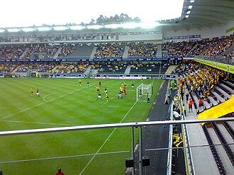 Sør Arena - Inside view