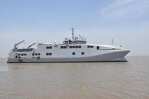 Makar-class survey catamaran - INS Makar