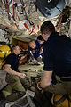ISS-47 Welcome of Soyuz TMA-20M crew.jpg