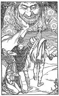 Þjálfi and Röskva fictional couple