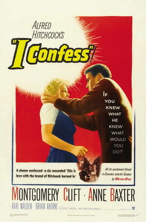 I Confess (film) - Theatrical release poster